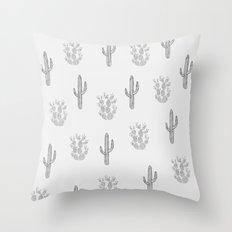 Cactus Pattern Throw Pillow