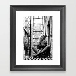 A Moment of Escape Framed Art Print