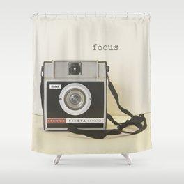 Focus Shower Curtain