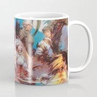 final fantasy Mugs featuring Final Fantasy by Tamika