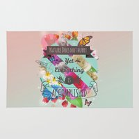 shih tzu Area & Throw Rugs featuring Nature Lao Tzu quote by James Thornton