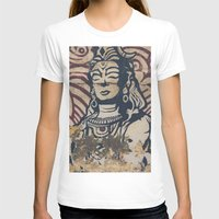 hindu T-shirts featuring Hindu mural by Rick Onorato