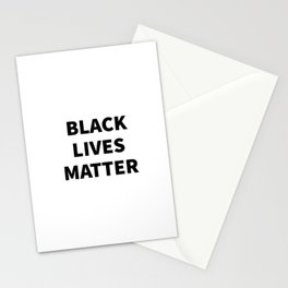 BLACK LIVES MATTER Stationery Cards