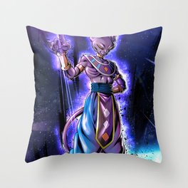 beerus Dragon Ball Super  Throw Pillow