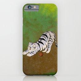 Minhwa: Big Happyx2 Cat D Type (Korean traditional/folk art) iPhone Case