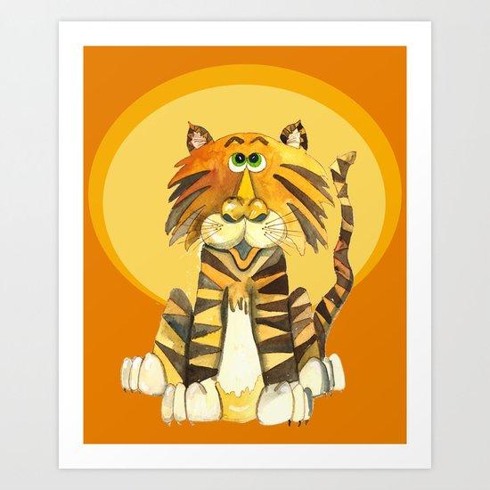 Tom's Moment in the Sun Art Print