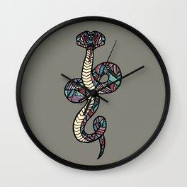 Anaconda Khaki Wall Clock