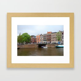canal  Framed Art Print