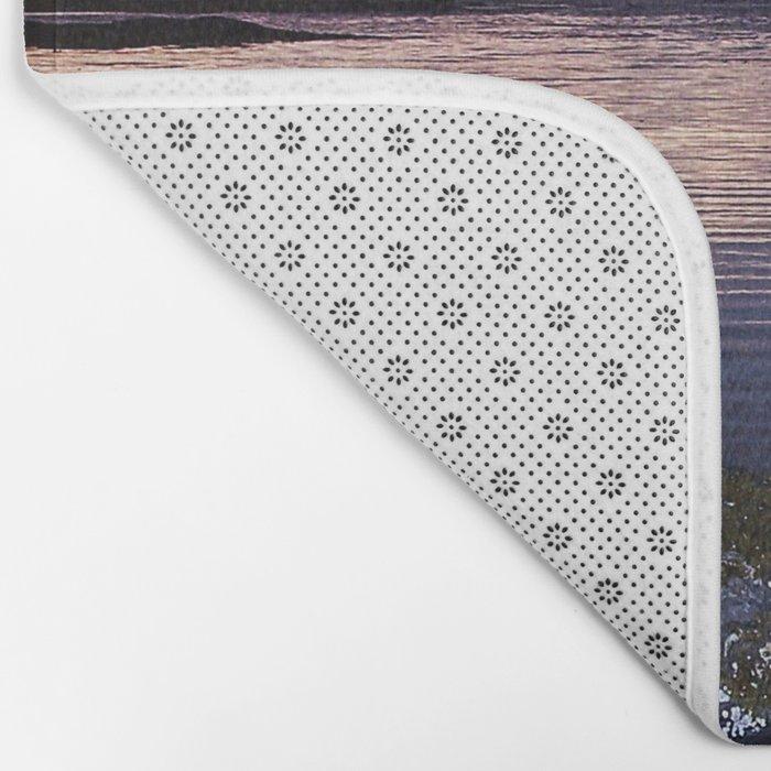 Sunset Split Bath Mat