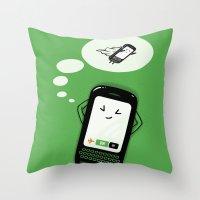 depeche mode Throw Pillows featuring Flight Mode by Lucas Scialabba :: Palitosci