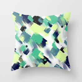 Abstract pattern 153 Throw Pillow
