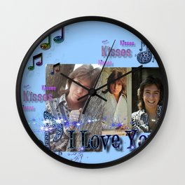 David Cassidy - Musical Sass Wall Clock