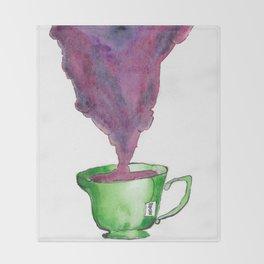 Rosette Tea Throw Blanket
