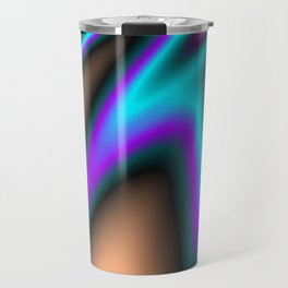 Abstract Fractal Colorways 03 Southwestern Travel Mug