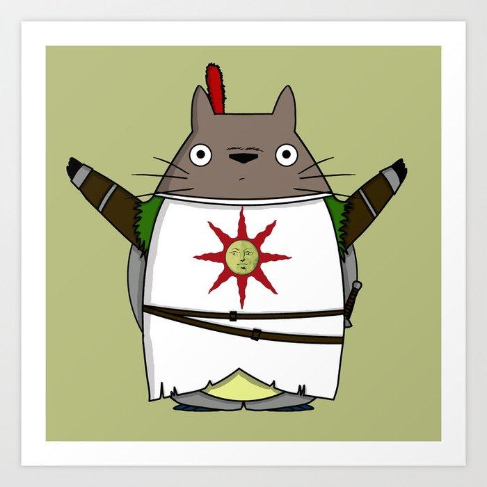 Totoros - Praise the sun Art Print