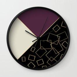 Walking Fifth Avenue Wall Clock
