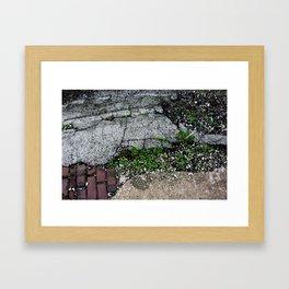 pavement art Framed Art Print