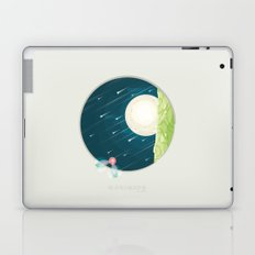 Where nature ends Laptop & iPad Skin