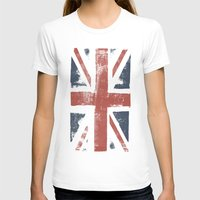 union jack T-shirts featuring Union Jack by David Hand