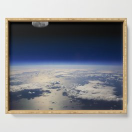 Earth and Moon Serving Tray