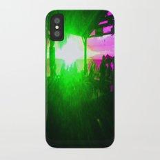 g r e e n f l a s h iPhone X Slim Case