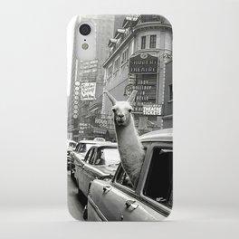Llama Vintage iPhone Case