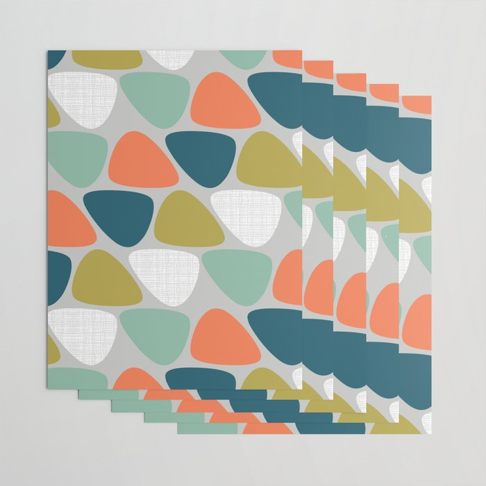 MCM Lozenge Wrapping Paper