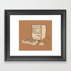 Sometimes you need to get outside Framed Art Print