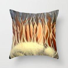 Dream Fumes Throw Pillow