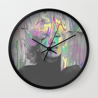monroe Wall Clocks featuring Monroe by Calepotts