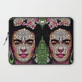 Frida Kahlo Art - Define Beauty Laptop Sleeve