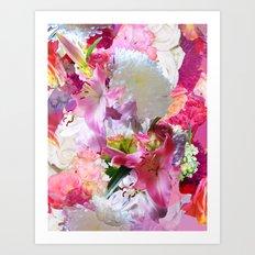 Lush Lilies Art Print
