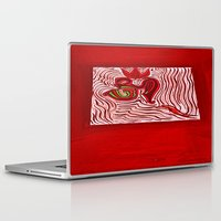 om Laptop & iPad Skins featuring om by Loosso