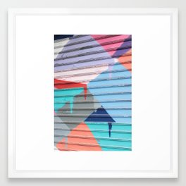 STREET ART NYC Framed Art Print