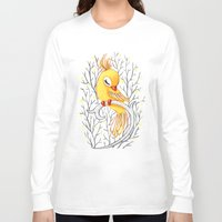 freeminds Long Sleeve T-shirts featuring Magic Canary by Freeminds