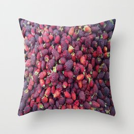 Berries in Paloquemao - Bayas en Paloquemao Throw Pillow