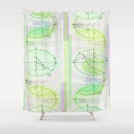 Casadence 3 Shower Curtain