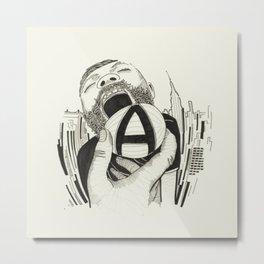// A    Metal Print