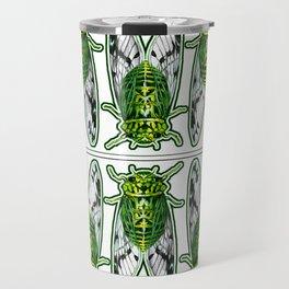 Emerald Cicadas Travel Mug