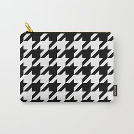 Classic Houndstooth Pattern Carry-All Pouch