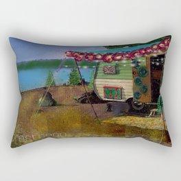 Forest song Rectangular Pillow