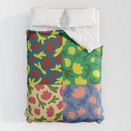 Floral 4 Comforters