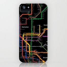Nyc Subway Map Iphone 5 Case.Subway Map Iphone Cases Society6