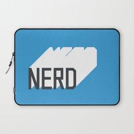 Retro Nerd Blue Laptop Sleeve