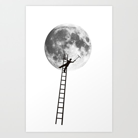 MoonShine Art Print