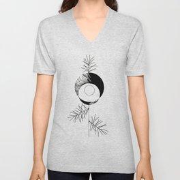 Pine Unisex V-Neck