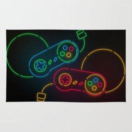 Neon Nostalgia Rug