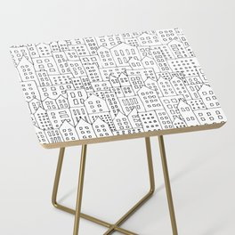 Coit City Pattern 1 Side Table