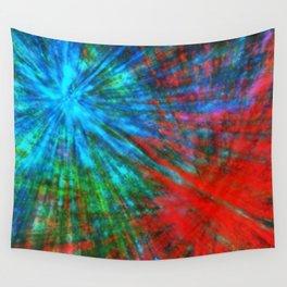Abstract Big Bangs 001 Wall Tapestry