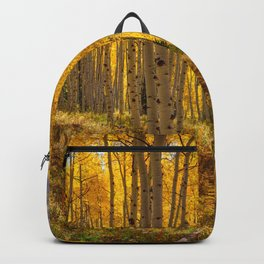 Autumn Aspen Forest Aspen Colorado Backpack